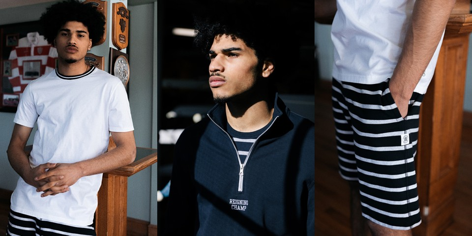 "Reigning Champ's ""Rowing Pack"" Draws From History of Competitive Rowing"