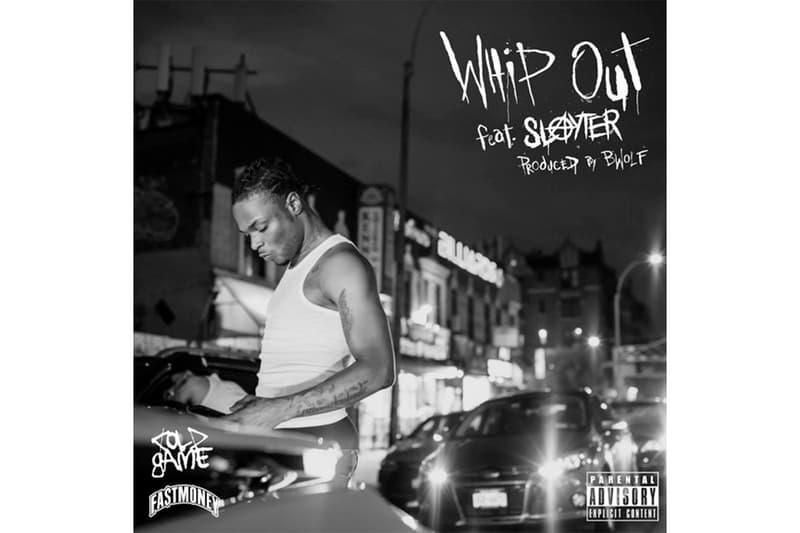 "RetcH ""Whip Out"" Feat. Slayter Single Stream west coast east coast rap hip-hop g-funk fastmoney listen now apple music spotify"