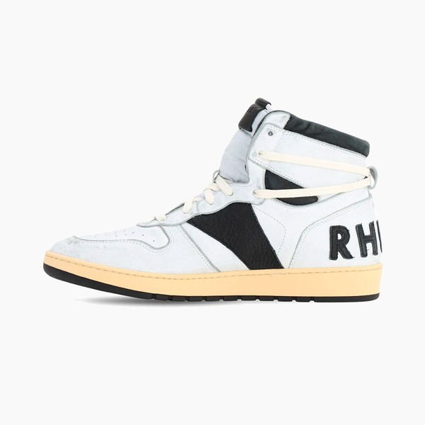 "RHUDE RHECESS-HI Sneakers ""White/Black"""