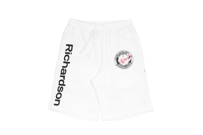 "Richardson ""Cherry Blossom Teamster"" Collection Seal US Union Workers Sakura Cherry Blossom Stem Black White Hoodies Long Sleeves Sweatpants Shorts Baseball Caps Embroidery"
