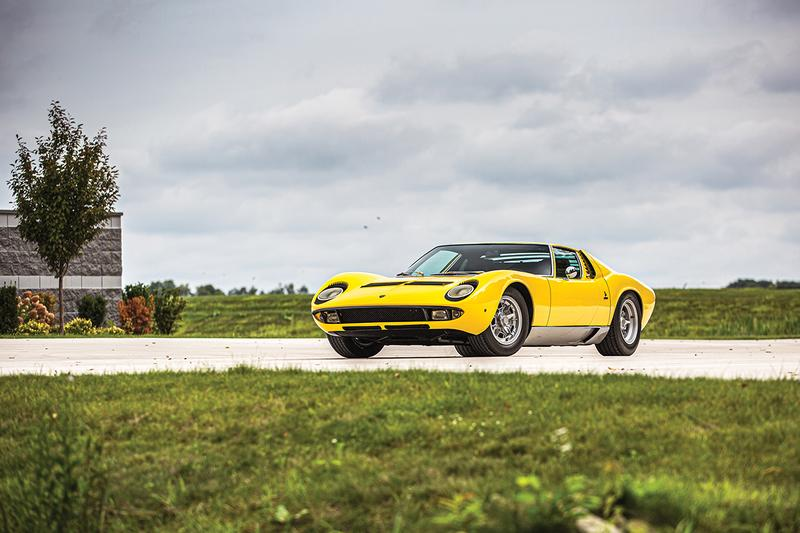 RM Sotheby's Elkhart Exotic Car Collection Auction Automotive Japanese JDM Italian Supercars American Muscle 1964 Aston Martin DB5, 1969 Lamborghini Miura, 1953 Mercedes-Benz 300 S Roadster, 1937 Cord 812 Supercharged 'Sportsman' Cabriole, 1993 Jaguar XJ220 2006 Ford GT Heritage Edition