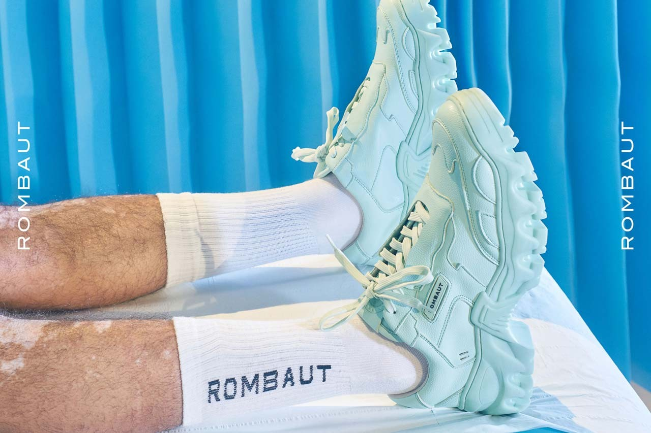rombaut spring summer 2020 ss20 collection campaigns campaign lookbook plantbased vegan shoes sustainable footwear