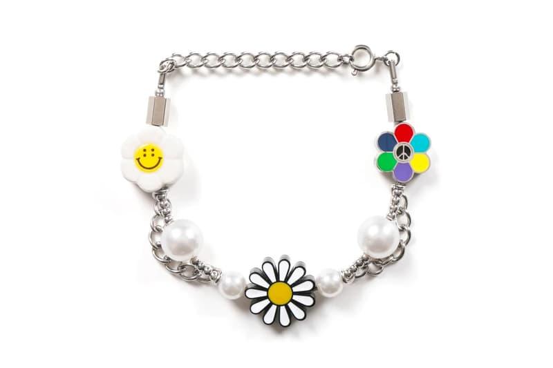 Salute SS20 Flower Anarchy Necklace Bracelet Release Info Date Buy Price
