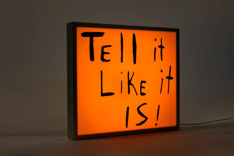 sam durant tell it like it is electric sign case studyo release