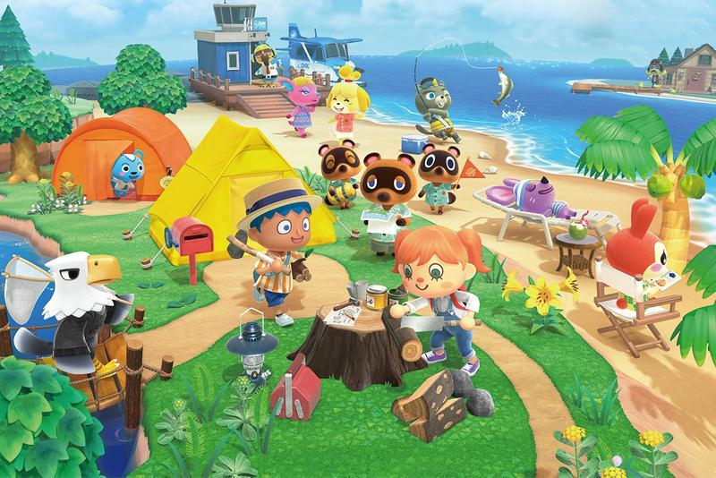 Shing Yin Khor Marina Abramović Artwork Recreated Animal Crossing new horizons nintendo switch