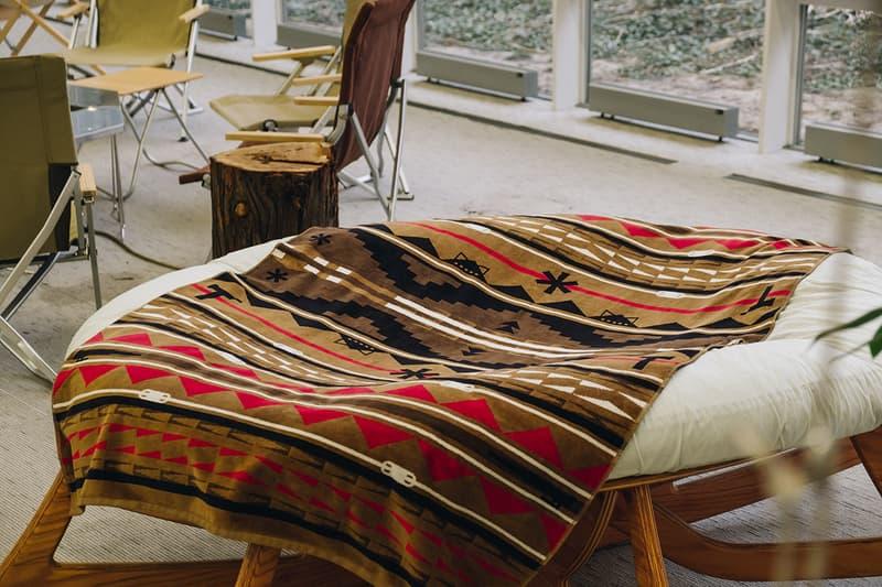 Snow Peak pendleton towel blanket buy cop purchase spring summer 2020 release information details news uk instagram live launch