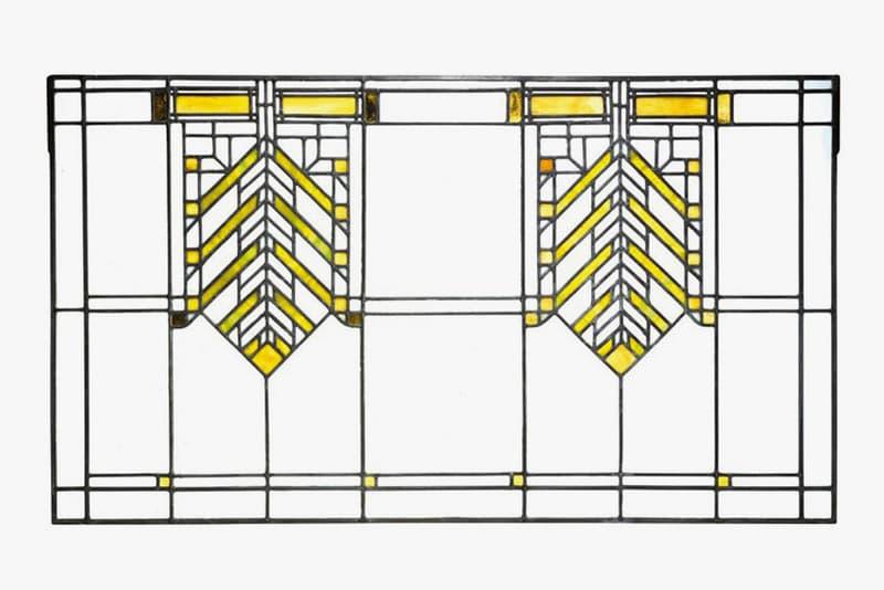 "Sotheby's 20th Century Design Auction Record Tiffany Studios Lamp Frank Lloyd Wright Windows Jean Prouvé ""Direction"" Armchairs Harry Bertoia Sculpture"