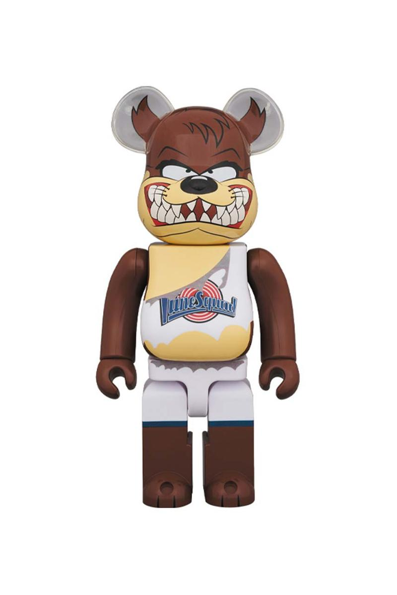 bearbrick medicom toy space jam tweety tasmanian devil release spring april 2020 rerelease 400 percent 100 percent