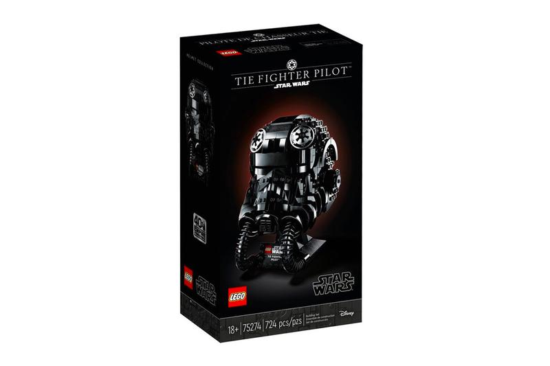 star wars day may the 4th lego helmets Tie fighter pilot stormtrooper boba fett collaboration collection 40th anniversary Empire Strikes Back