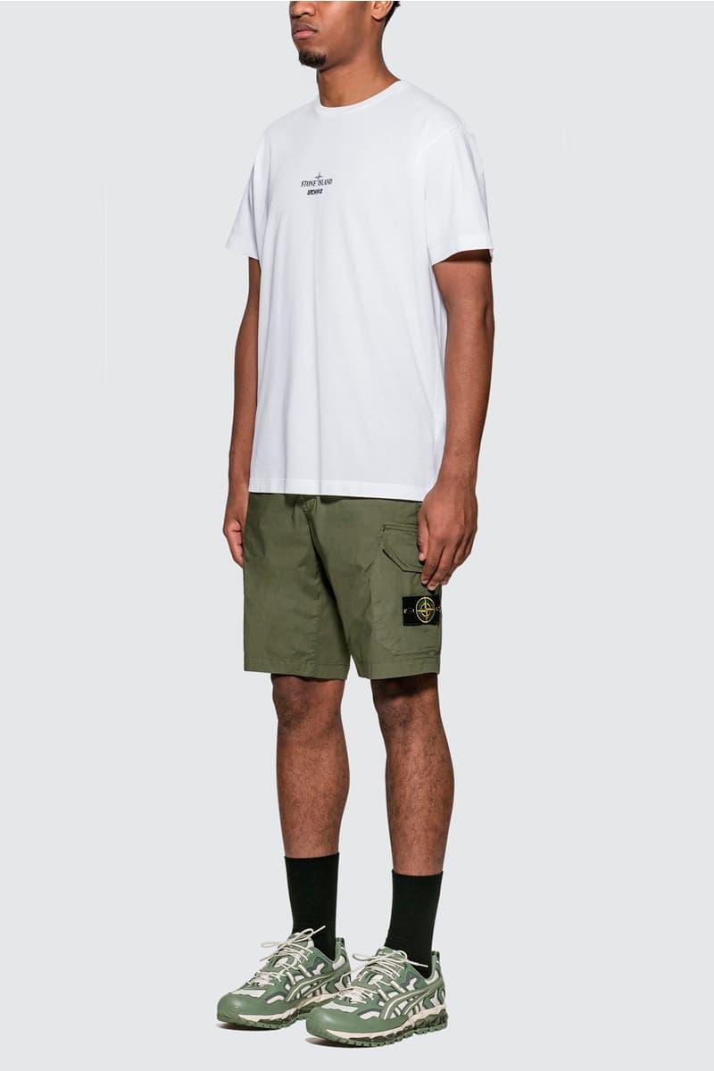 Stone Island Archivio T-Shirt Lino Watro Camouflage Release Info Buy Price White project