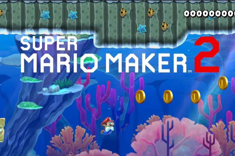 Super Mario Maker 2 World Maker Feature Update Hypebeast