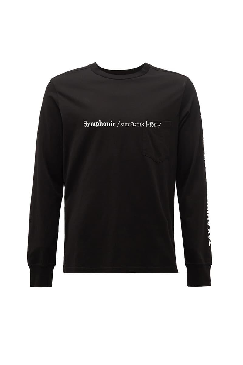 "TAKAHIROMIYASHITA TheSoloist. ""Dark Ambient"" ""Gospel"" ""Symphonic"" Print T-shirts Music Inspired Release Information Takahiro Miyashita Japanese Label Short Sleeve Longsleeve SS20 Runway"