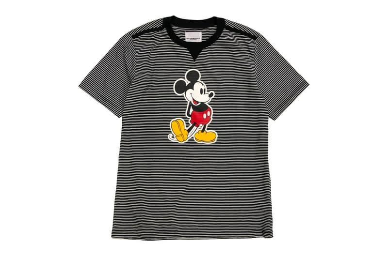 TAKAHIROMIYASHITATheSoloist Mickey Mouse T Shirt menswear streetwear spring summer 2020 collection japanese designer disney print stripes shinjuku isetan tokyo graphic tee