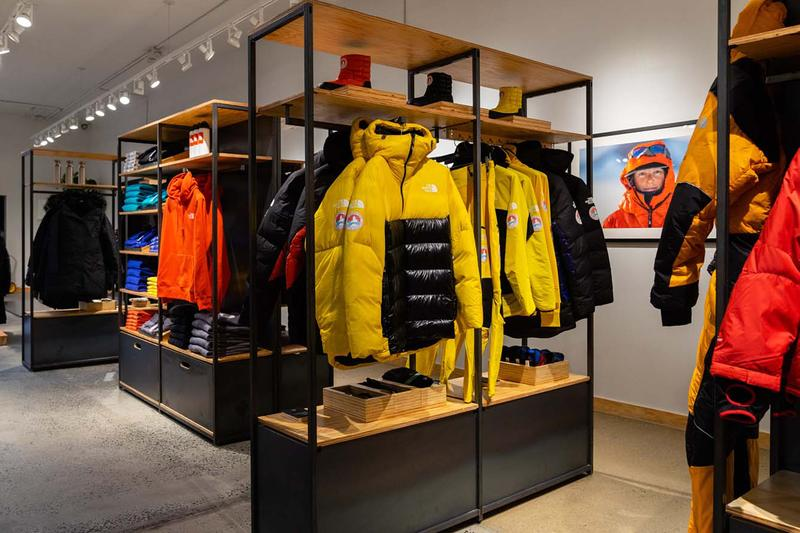 "The North Face, Vans & More COVID-19 Donation ""Prototype"" Concept Store Williamsburg Brooklyn"