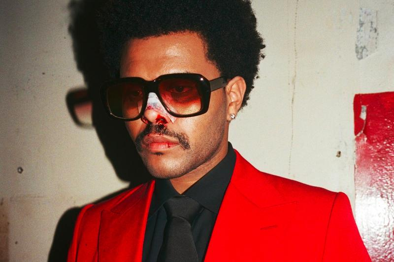 the weeknd after hours album top billboard 200 four weeks reign blinding lights major lazer remix single