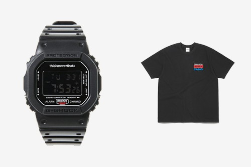 thisisneverthat Drops Collaborative Casio G-Shock DW-5600 Watch