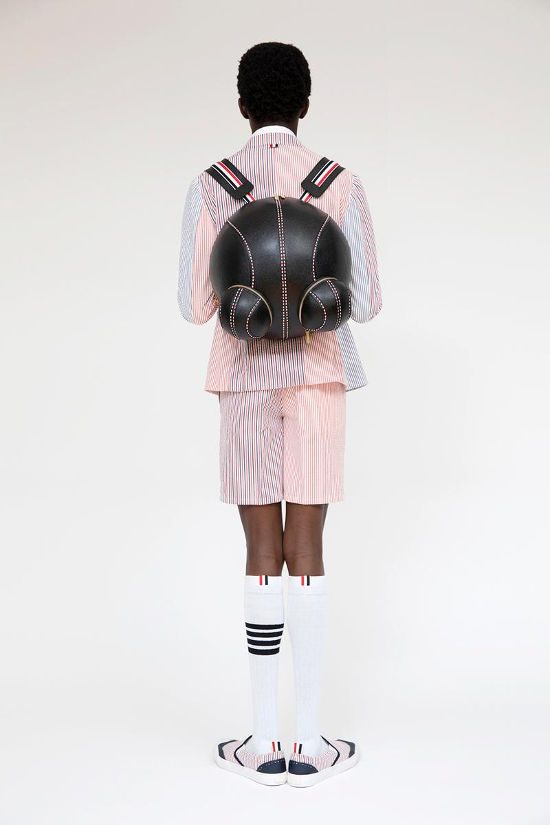 Thom Browne SS2020 seersucker collection Lookbook First Look images