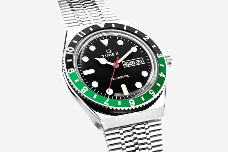 Timex Q Watch Three New Colors News black green orange navy PanAm Pan Am Pilots Pepsi Rolex GMT Quartz Sports watches