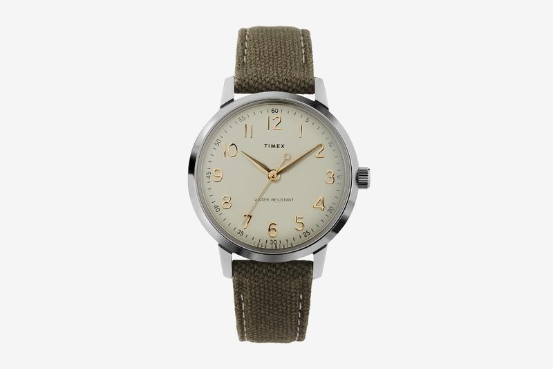 Todd Snyder Timex legendary watchmaker Liquor Store watch New York City 21 jewel Japanese automatic movement leather strap