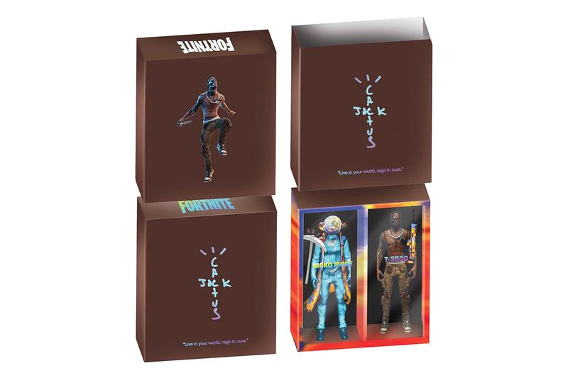 Cactus Jack for 'Fortnite' Day 6 Merch, Action Figure travis scott backpack lunchbox toy six the scotts single release date limited edition