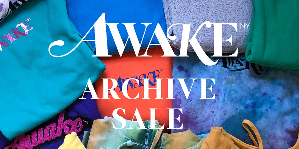 Awake NY Announces Archive Sale to Benefit Coronavirus Aid Efforts