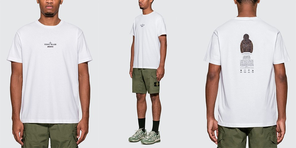 Stone Island Releases a T-Shirt Dedicated to its Lino Watro Camouflage