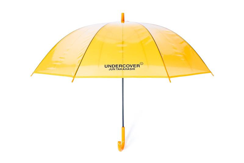 undercover madstore umbrella colorway spring summer 2020 ss20 release date info buy UCU8U01-1 red blue yellow green black logo japan web store jun takahashi see through plastic UCU8U01-2