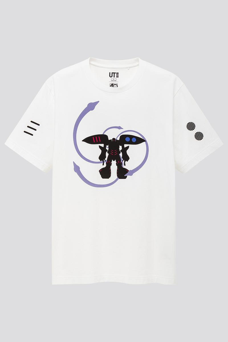 UNIQLO UT x GUNPLA 40th Anniversary collaboration collection  tee Shirts, Models figures toy exclusive april 10 2020 free RX-78-2U MS-06SU Zaku II