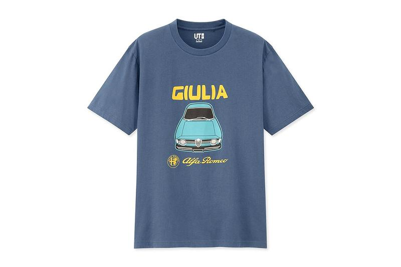UNIQLO UT Vintage Car Graphic T Shirts menswear streetwear fast fashion retailing spring summer 2020 collection bmw volkswagen e21 e30 karmann alfa romeo spider giulia giulietta