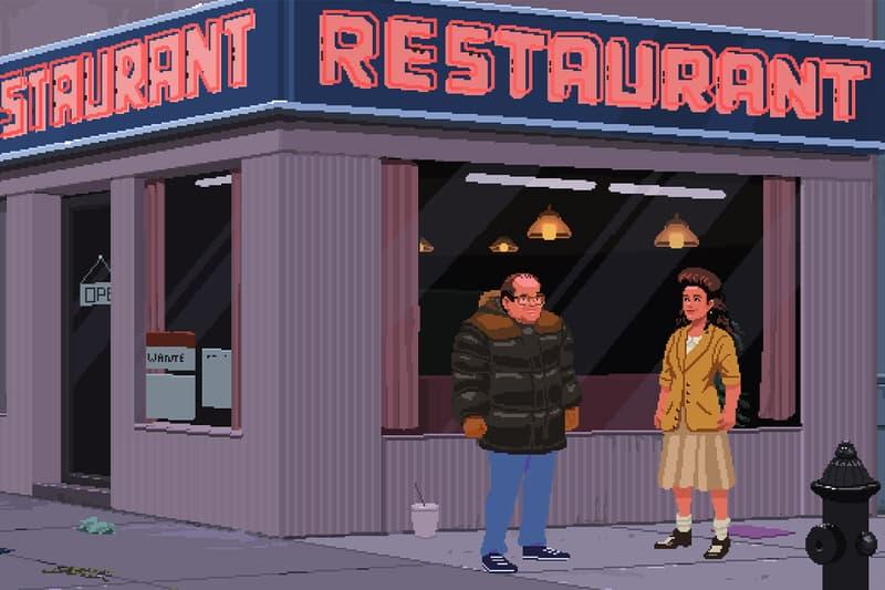 Unofficial Seinfeld Game Info Jacob Janerka Ivan Dixon jerry seinfeld larry david elaine george kramer newman
