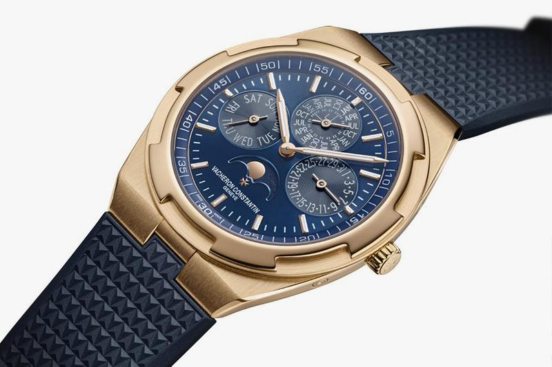 Vacheron Constantin Overseas Perpetual Calendar Ultra-Thin Skeleton Watches and Wonders Gold Watches Swiss made Dual Time Holy Trinity Watchmaking Timepiece