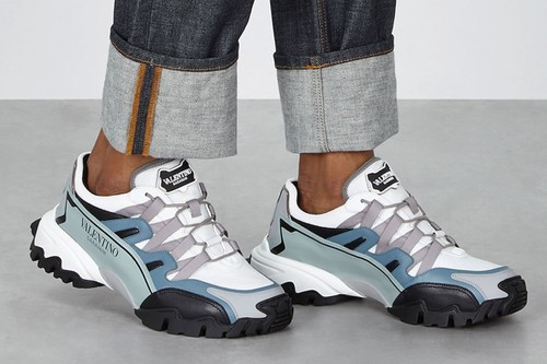 Valentino Channels Trail Running With Garavani Climbers Sneakers