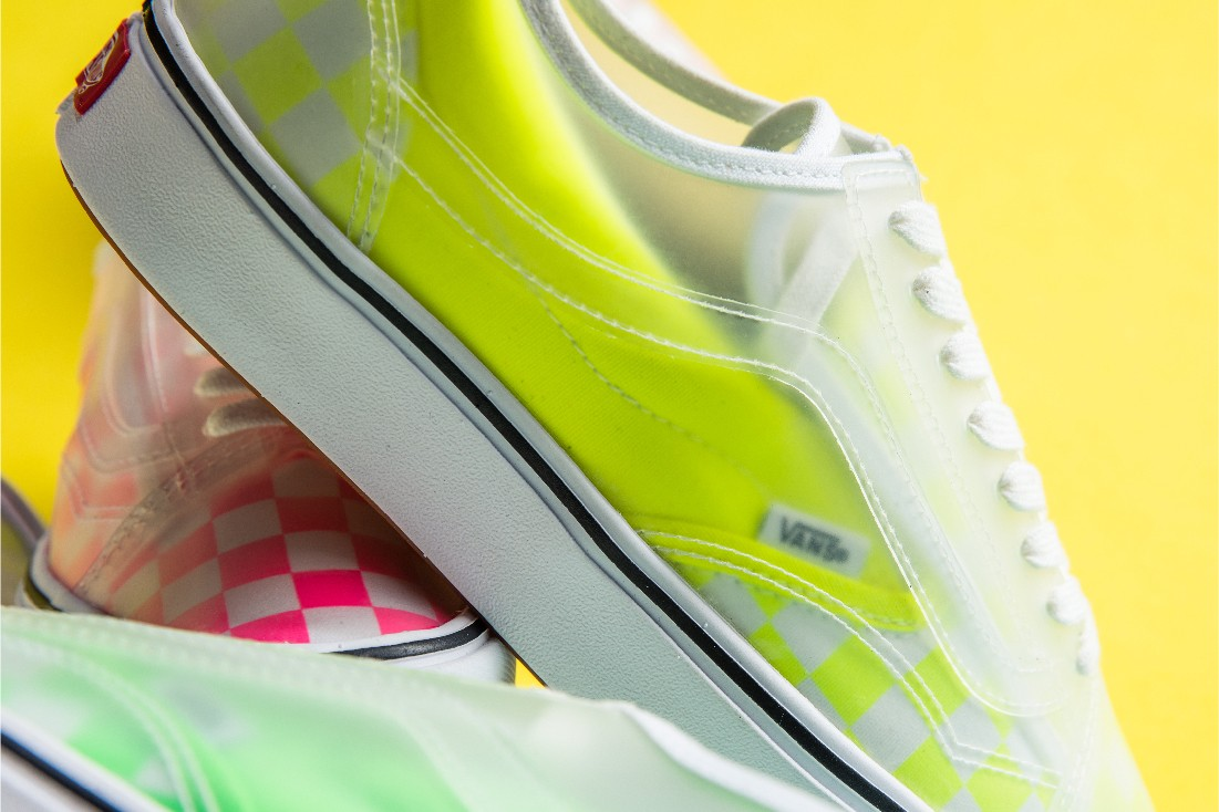 Vans ComfyCush Slip-Skool Neon Pink