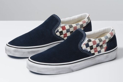 Vans Drops Washed-Out Checkerboard Slip-Ons, Authentics and Sport Sneakers