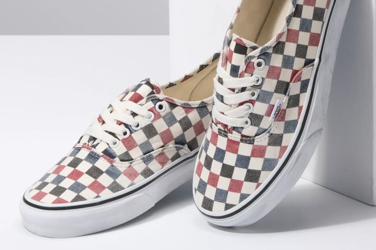 Vans Adds Washed Checkerboard to Slip