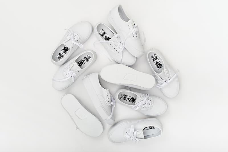 """Vault by Vans x OTH x Paul Labonté Authentic Vault LX Release Information Drop Date Closer Look 20 oz. """"True White"""" Duck Canvas Sneakers Footwear Montréal's graffiti artist Shok SIK"""