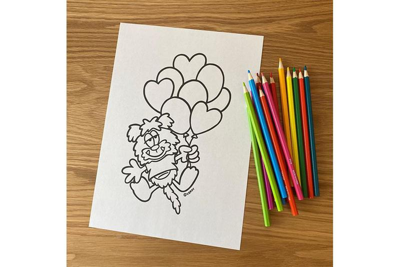 Verdy Coloring Page Release New Character info Print Download