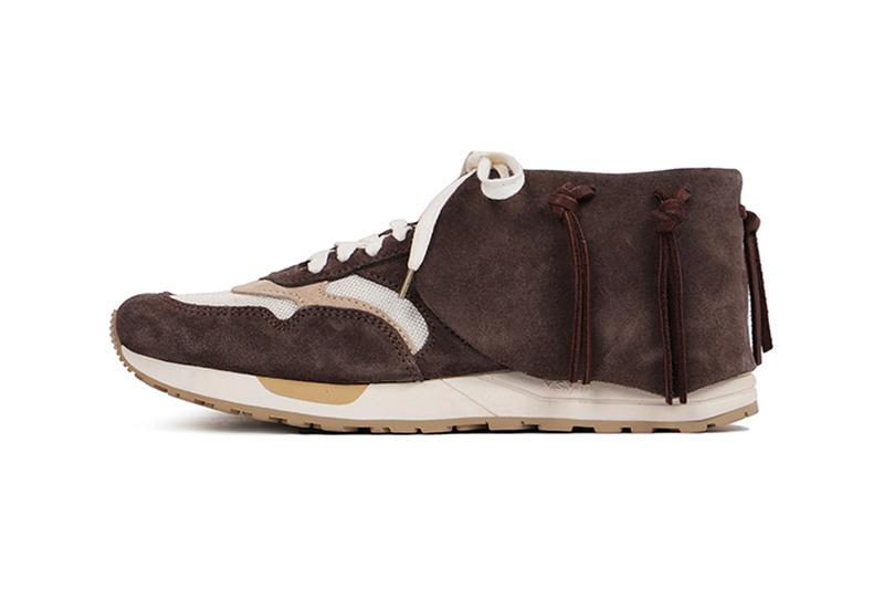 visvim Rolando Lhamo Jogger Grey dark brown light menswear streetwear shoes sneakers kicks trainers spring summer 2020 collection footwear hiroki nakamura japanese designer suede vegetable tanned cow suede vibram phylon