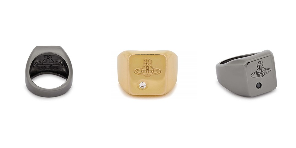 Vivienne Westwood Drops Duo of Orb-Engraved Rings