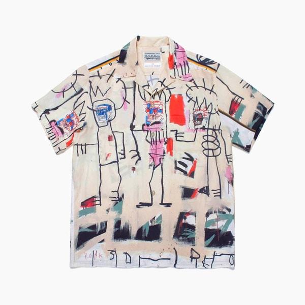 Jean-Michel Basquiat x WACKO MARIA Hawaiian Shirt