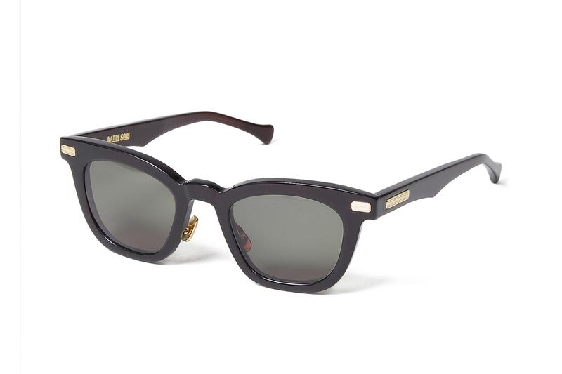 WACKO MARIA Native Sons KOWALSKI Glasses menswear streetwear spring summer 2020 collection sunglasses shades frames collaborations tommy o gara 16k gold trim