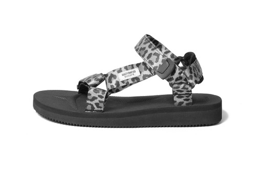 WACKO MARIA Rejoins Suicoke for Leopard-Patterned DEPA Sandals