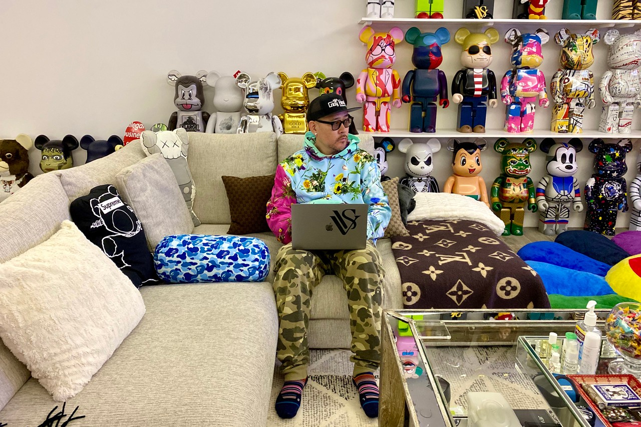 ベン・ボーラー  ステイホームスナップ Stay Home Snaps: Ben Baller Work From Home Style Advice Ben Baller Interview quarantine self isolation coroanvirus covid-19