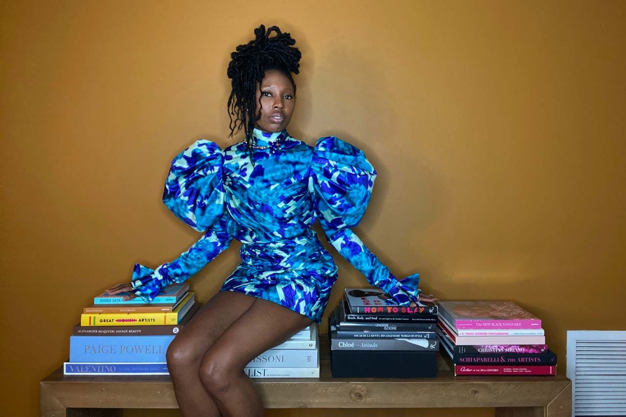 zerina akers beyonce stylist stay home snaps streetsnaps street style fashion coronavirus covid 19 quarantine routine work from home tips chloe x halle