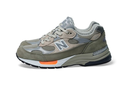 WTAPS Reveals Military-Inspired New Balance 992 Collaboration
