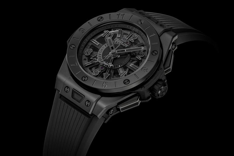 Yohji Yamamoto x Hublot Big Bang GMT All Black Watch limited edition ginza japan exclusive release date info buy colorway timepiece HUB1251