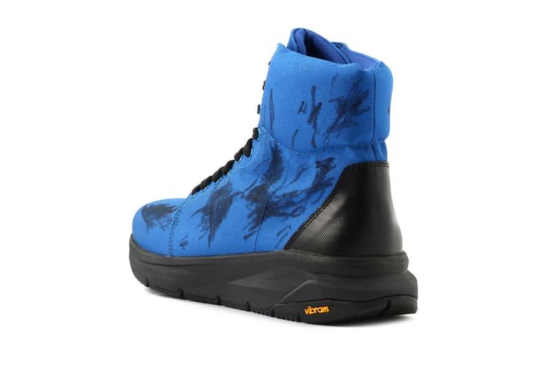 Yohji Yamamoto Vibram Nylon ox Red/Blue japan sneaker footwear sneakers scribbles Vibram