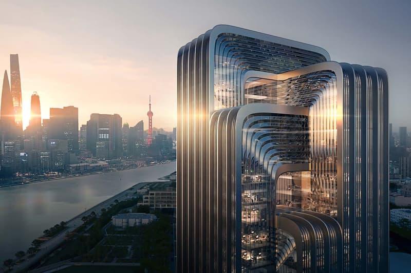 zaha hadid architects zha cecep shanghai headquarters building