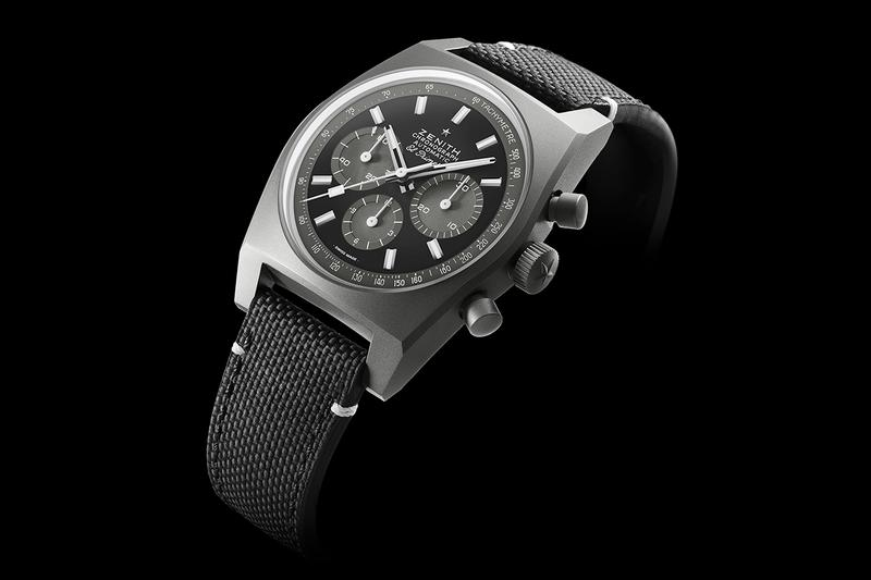 """Zenith A384 Chronomaster Revival """"Shadow"""" Watch timepiece limited edition price colorway el primero movement"""