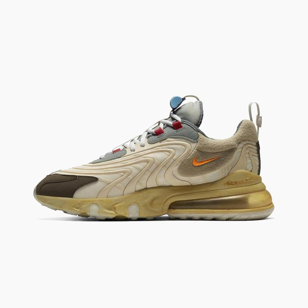 "Travis Scott x Nike Air Max 270 React ""Cactus Trail"""